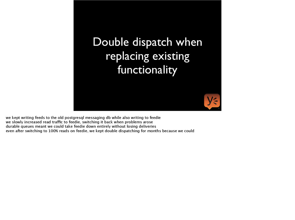 Double dispatch when replacing existing functio...
