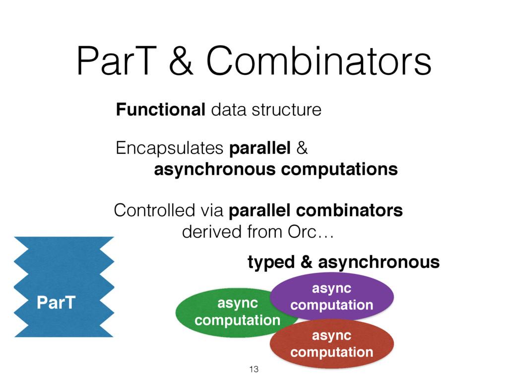 ParT & Combinators 13 Functional data structure...