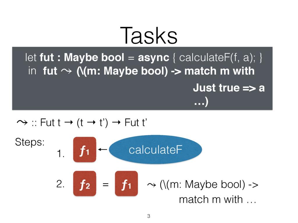 Tasks 3 let fut : Maybe bool = async { calculat...
