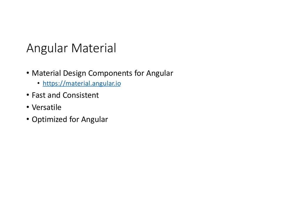 Angular Material • Material Design Components f...