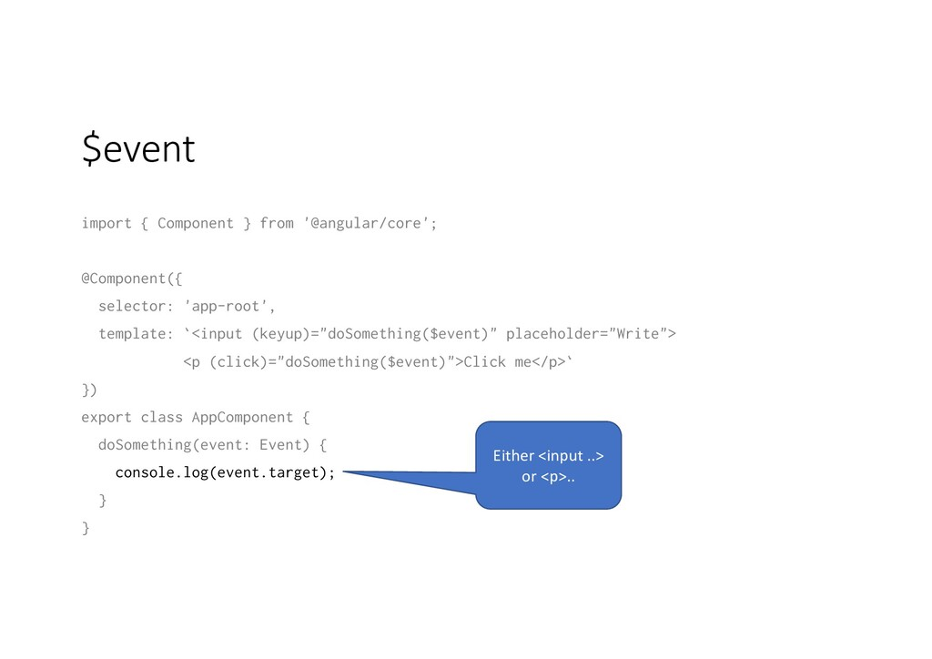 $event import { Component } from '@angular/core...