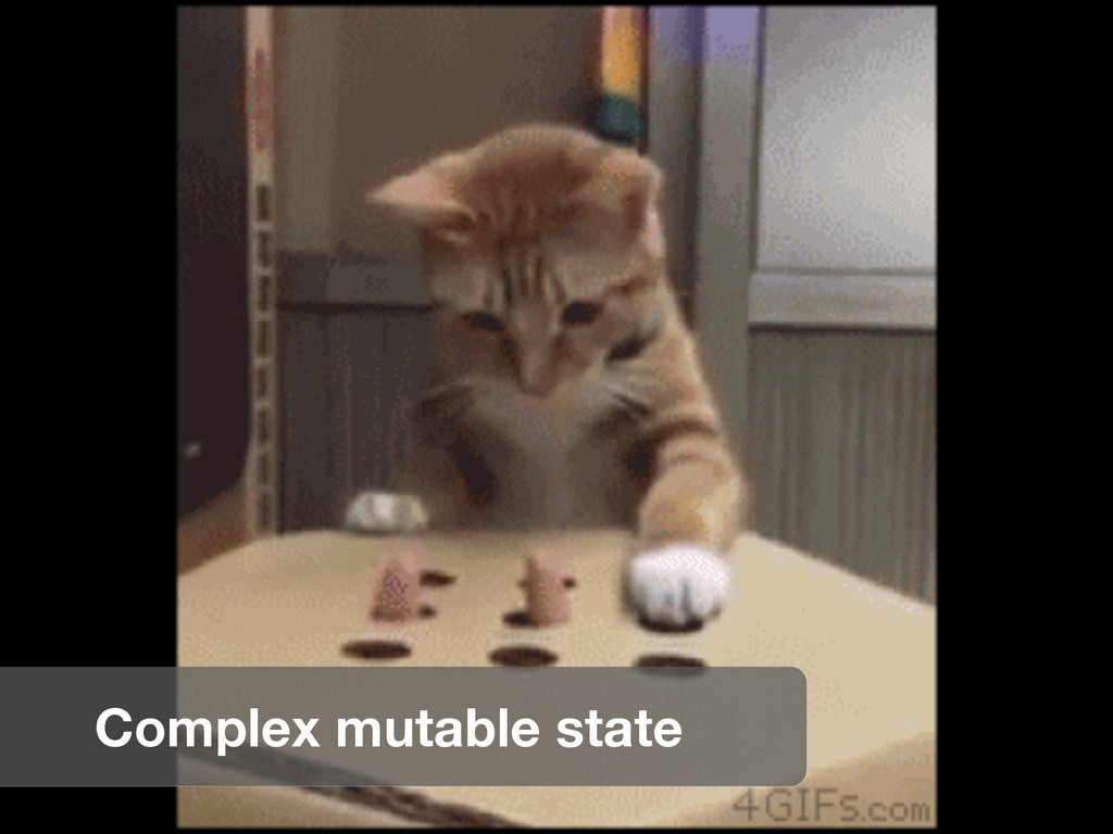 Complex mutable state