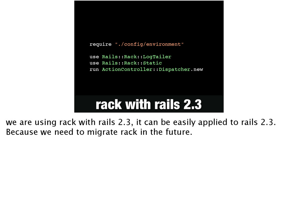 """require """"./config/environment""""! ! use Rails::Ra..."""