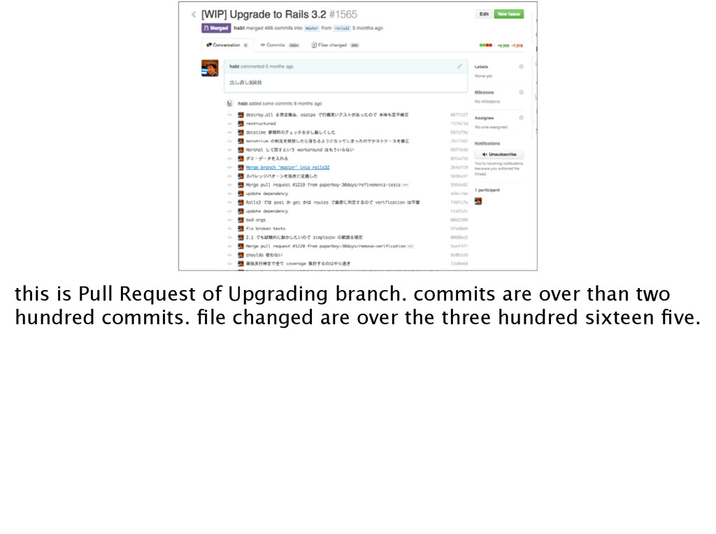 this is Pull Request of Upgrading branch. commi...