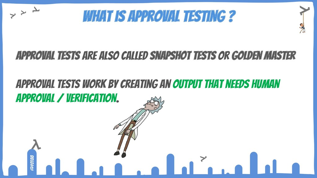 @yot88 What is Approval Testing ? Approval Test...