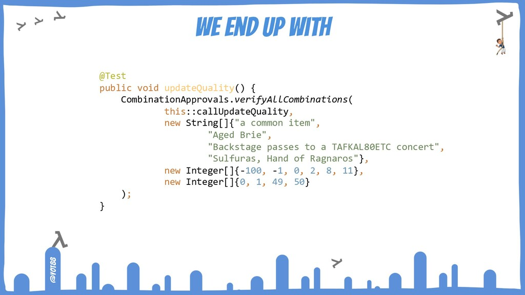 @yot88 We end up with @Test public void updateQ...