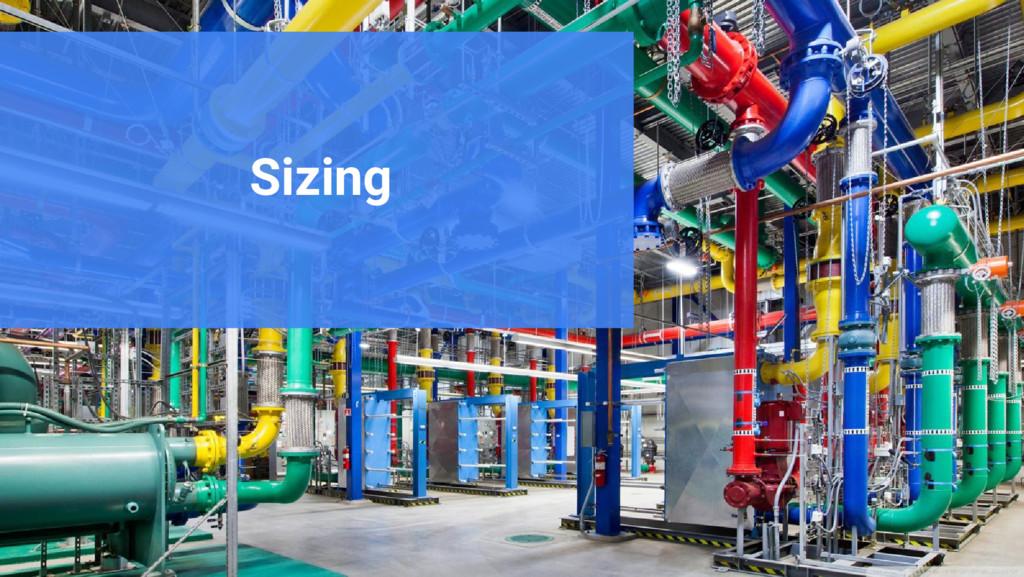 Google Cloud Platform Sizing
