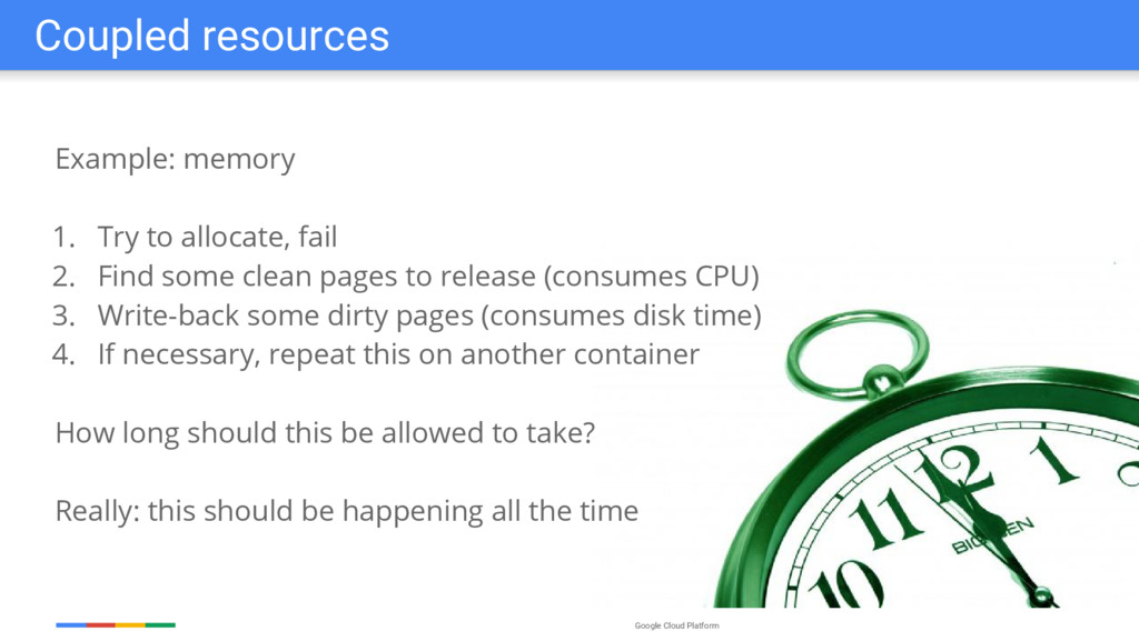Google Cloud Platform Example: memory 1. Try to...