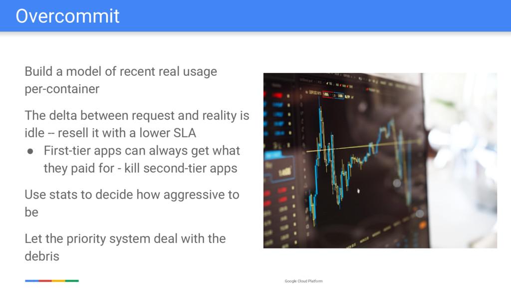 Google Cloud Platform Overcommit Build a model ...