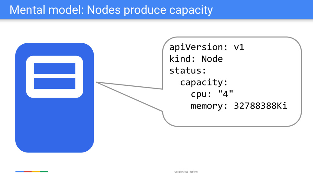 Google Cloud Platform Mental model: Nodes produ...