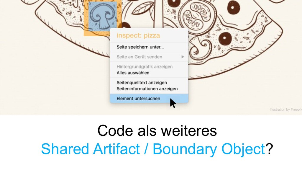 Code als weiteres Shared Artifact / Boundary Ob...