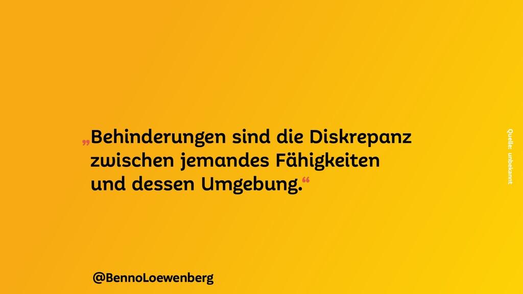 """@BennoLoewenberg """"Behinderungen sind die Diskre..."""