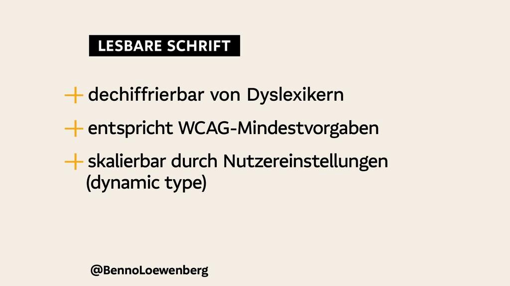 @BennoLoewenberg —   dechiffrierbar von Dyslexi...