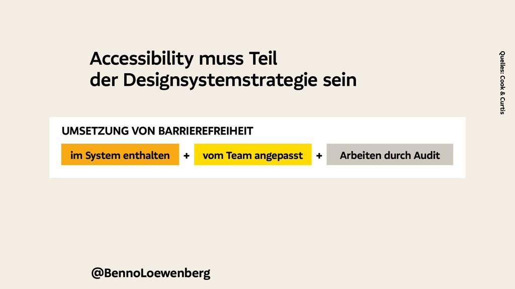 Accessibility muss Teil der Designsystemstrateg...
