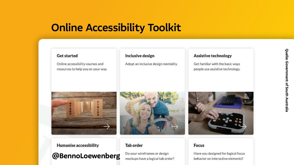 @BennoLoewenberg Online Accessibility Toolkit ...