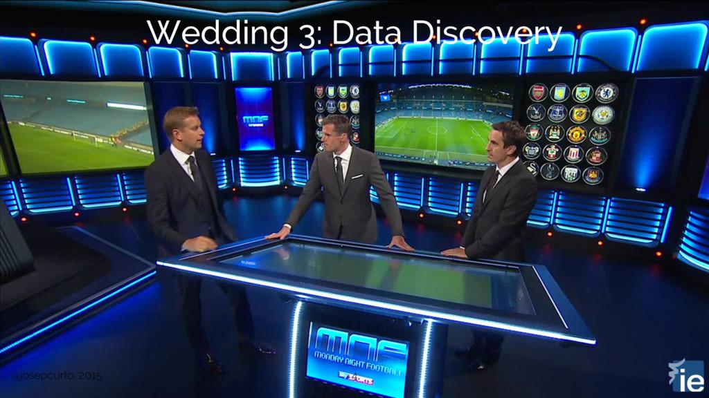 @josepcurto, 2015 4 Wedding 3: Data Discovery