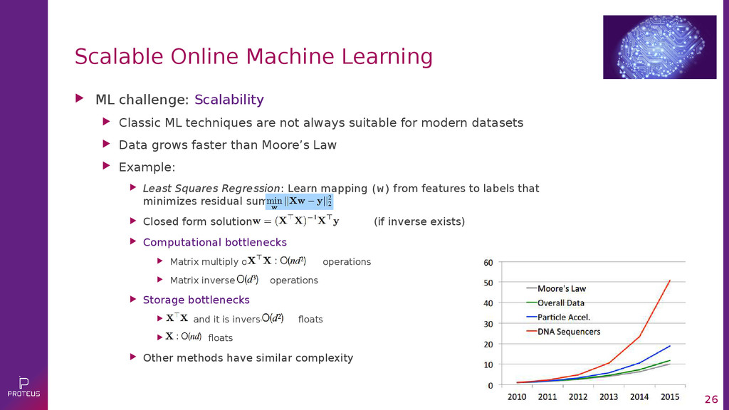 26 Scalable Online Machine Learning  ML challe...