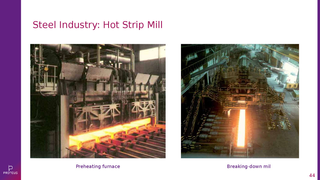 44 Steel Industry: Hot Strip Mill Preheating fu...