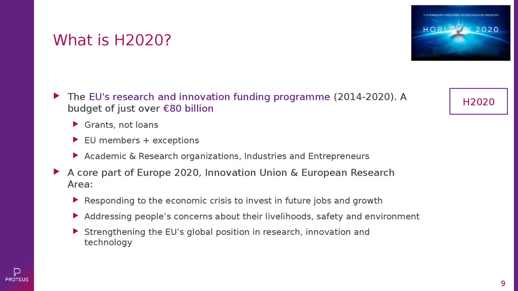  The EU's research and innovation funding prog...
