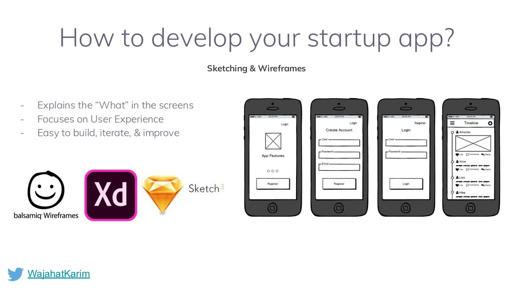 WajahatKarim How to develop your startup app? S...