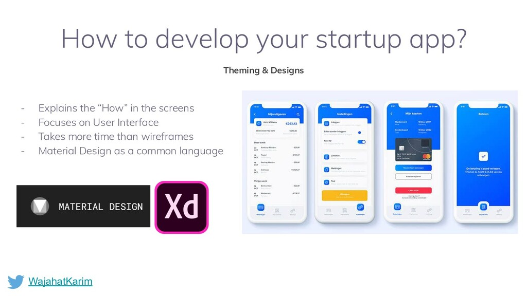 WajahatKarim How to develop your startup app? T...