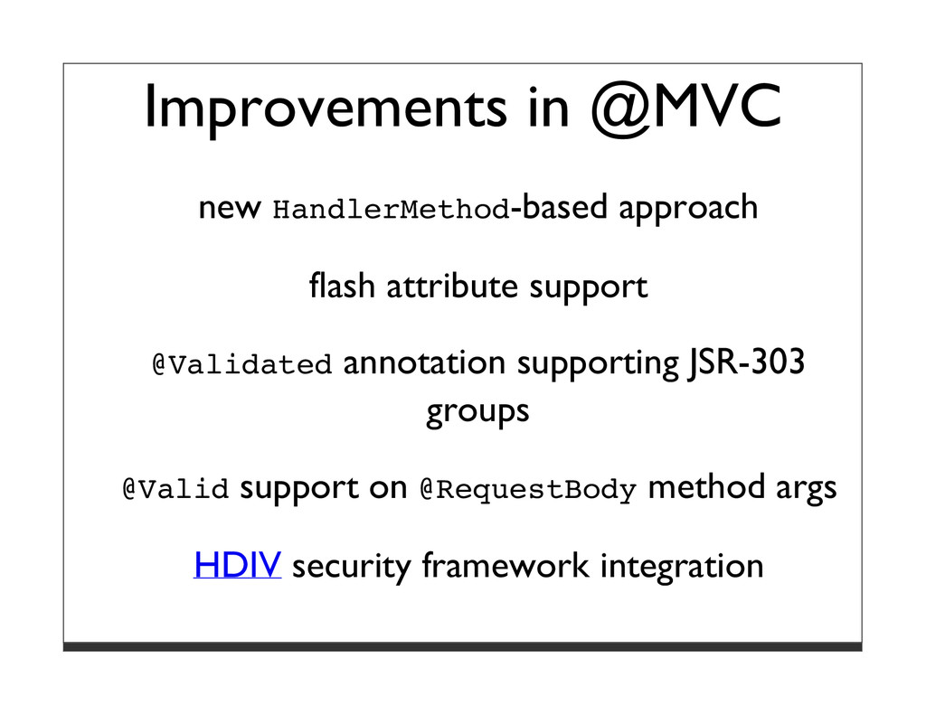 Improvements in @MVC new HandlerMethod-based ap...
