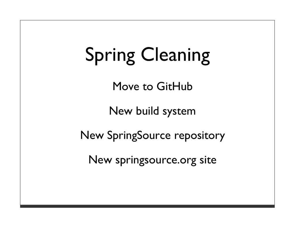 Spring Cleaning Move to GitHub New build system...