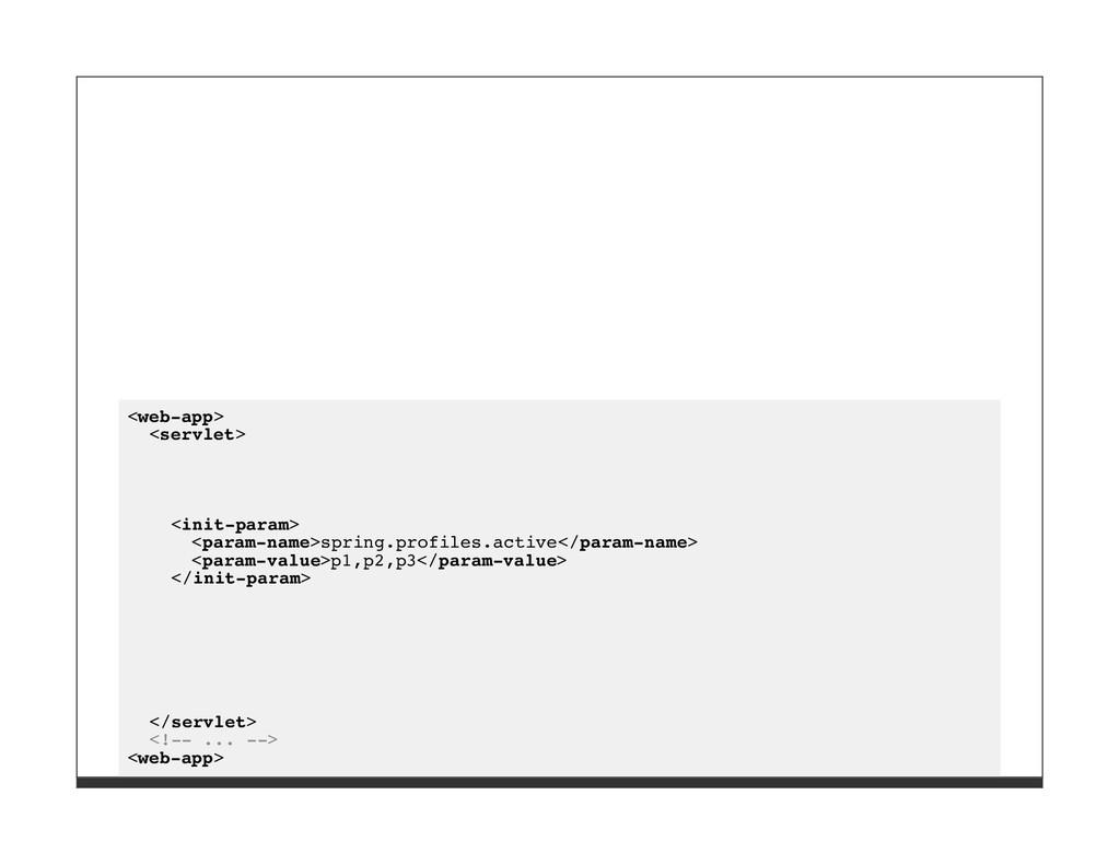 <web-app> <servlet> <init-param> <param-name>sp...