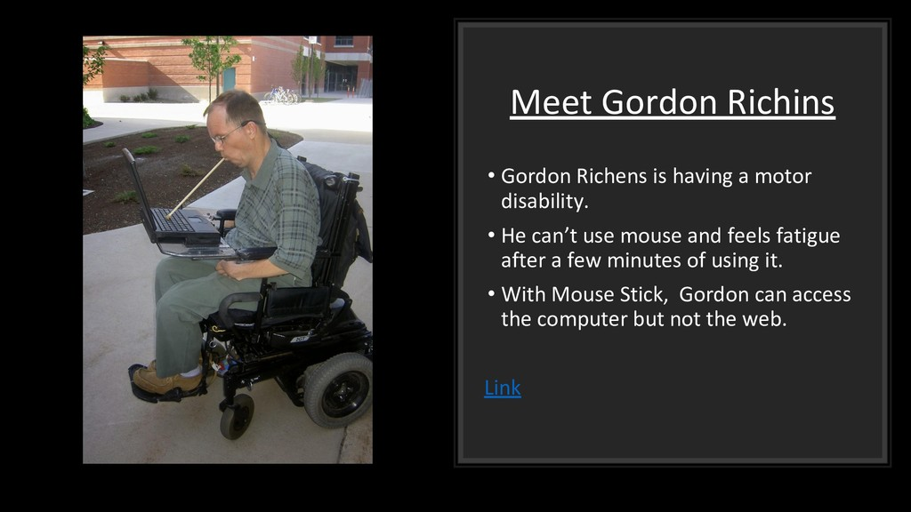 Meet Gordon Richins • Gordon Richens is having ...