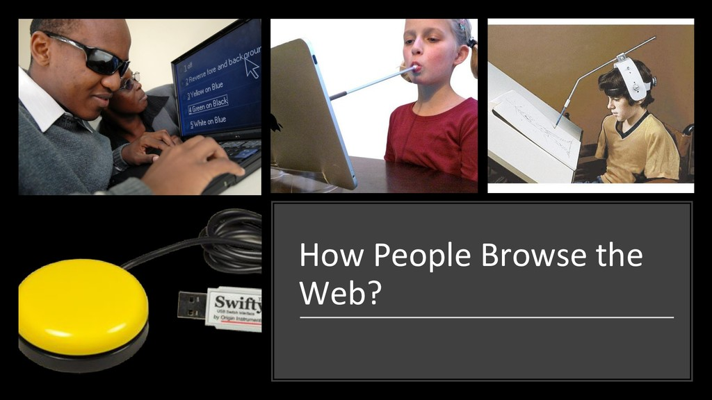 How People Browse the Web?