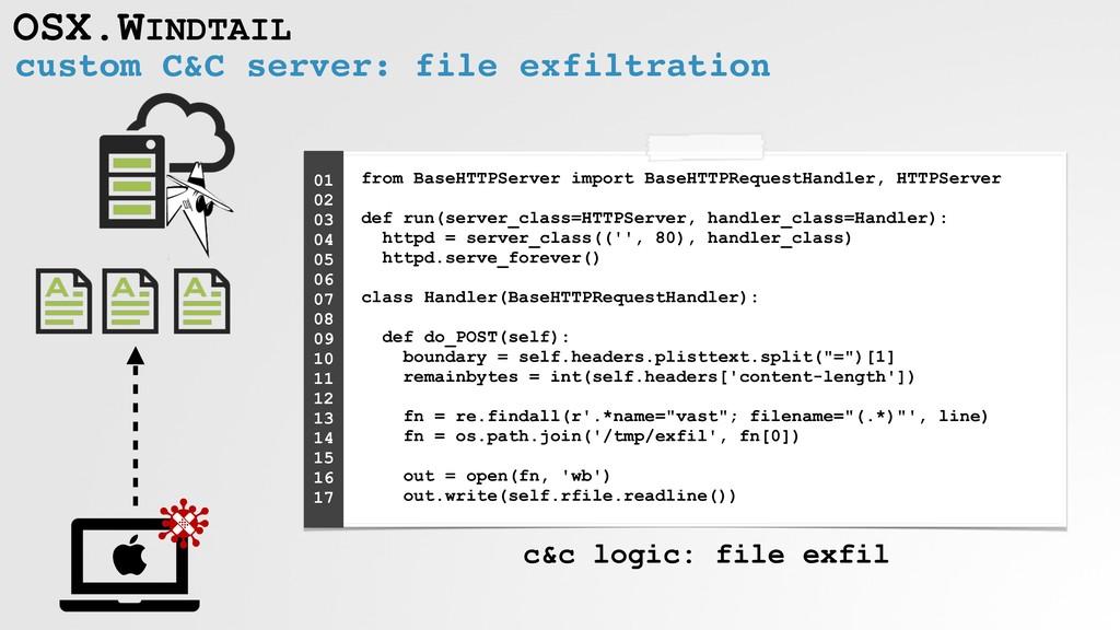 OSX.WINDTAIL from BaseHTTPServer import BaseHTT...