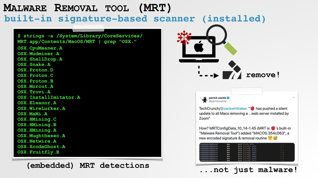 built-in signature-based scanner (installed) MA...
