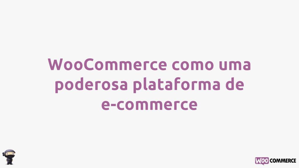 WooCommerce como uma poderosa plataforma de e-c...