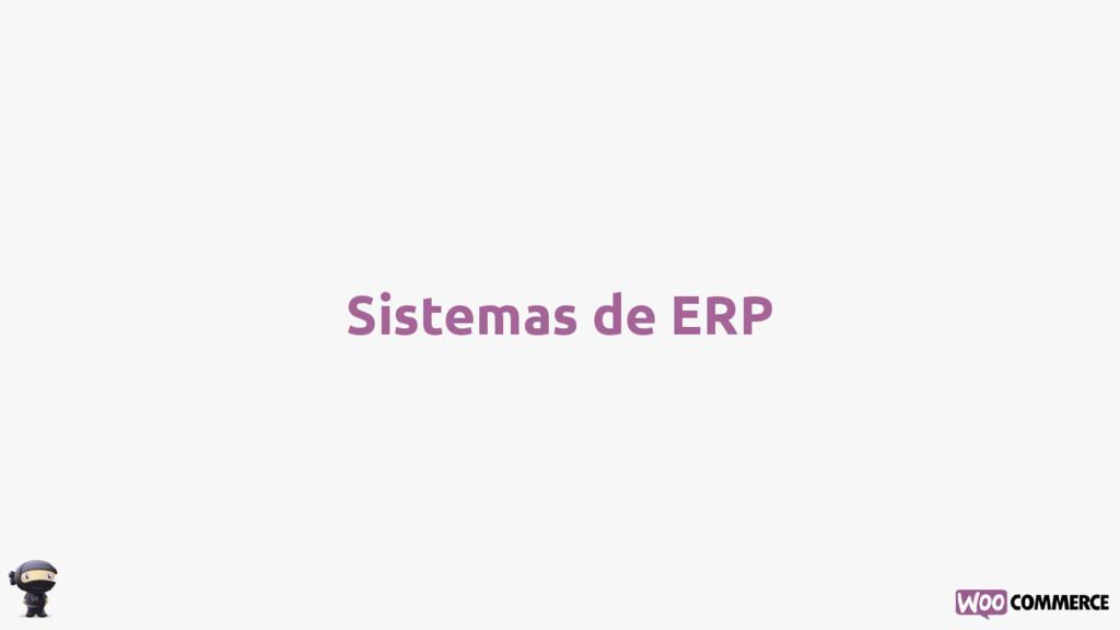 Sistemas de ERP
