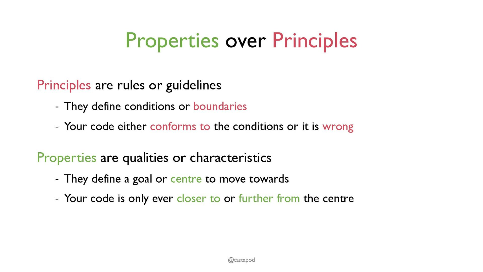 "Unix philosophy ""Make each program do one thing..."