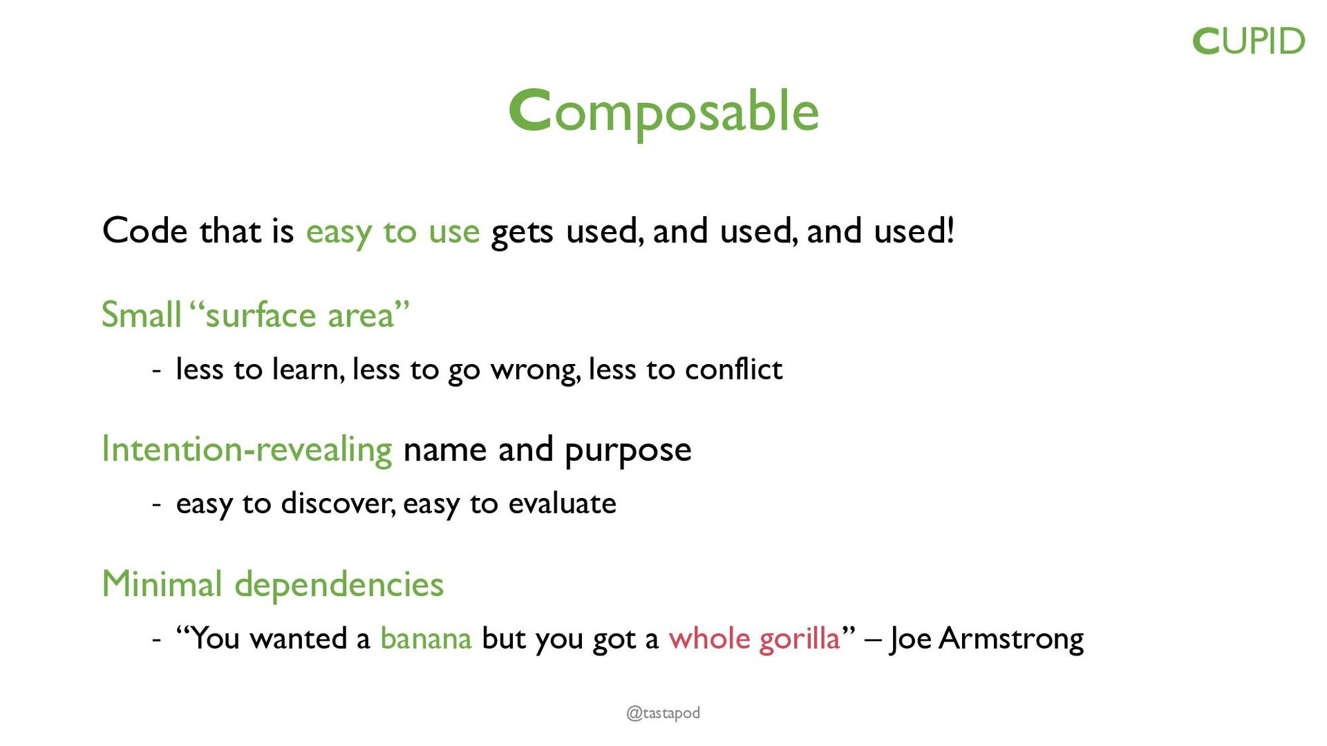 """Domain-based Uses domain language - """"Code in th..."""