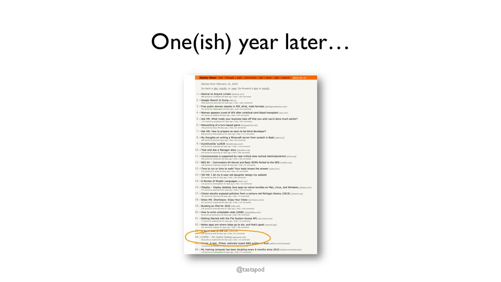 """Who are we writing code for? """"Any fool can writ..."""