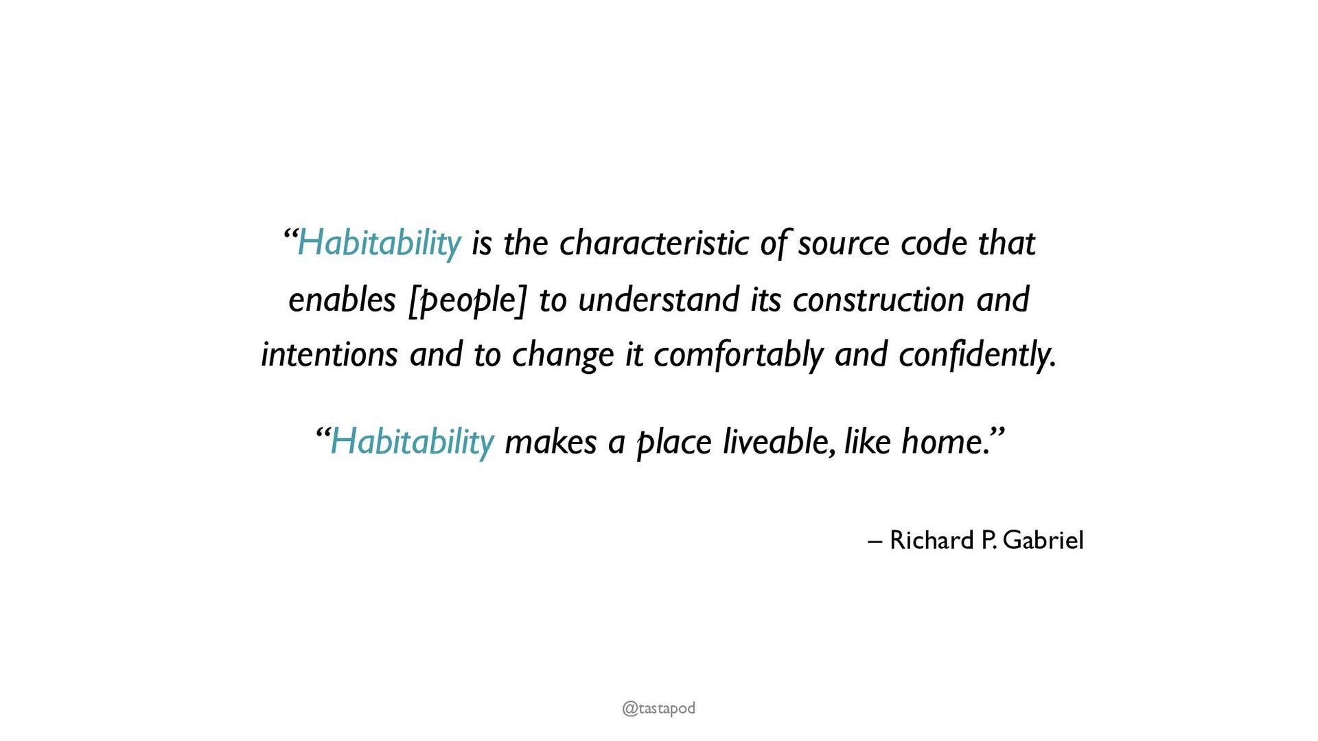 CUPID – for joyful coding @tastapod Composable ...
