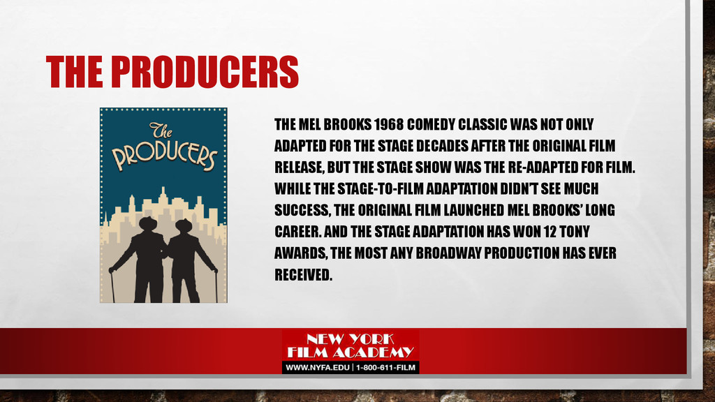 THE PRODUCERS THE MEL BROOKS 1968 COMEDY CLASSI...