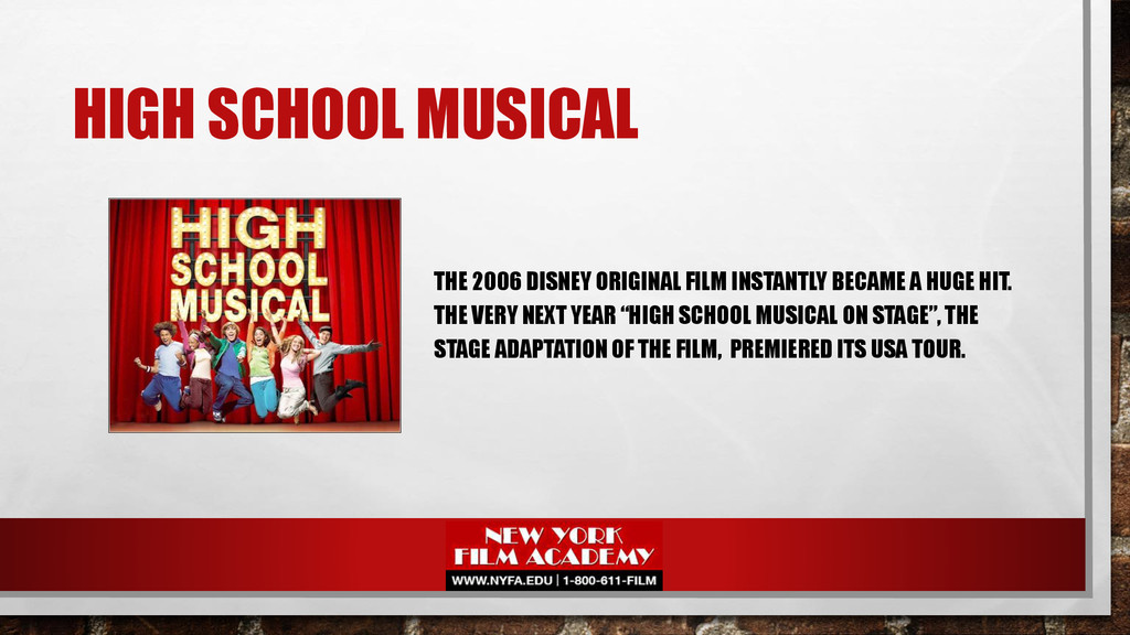 HIGH SCHOOL MUSICAL THE 2006 DISNEY ORIGINAL FI...