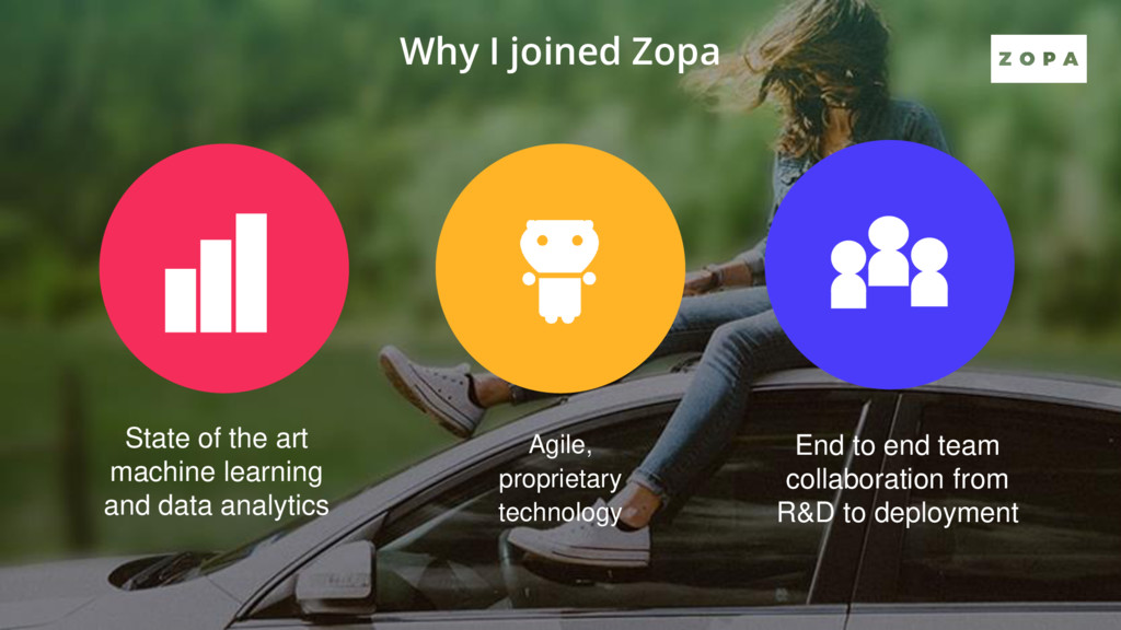 Why I joined Zopa State of the art machine lear...