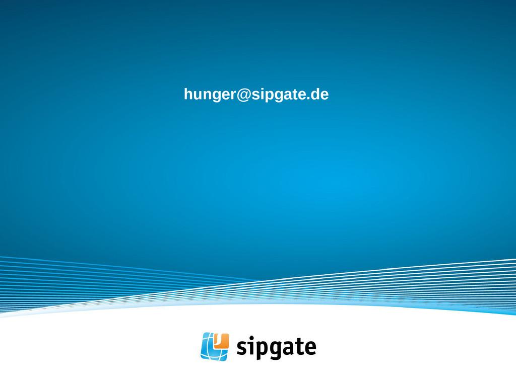 hunger@sipgate.de