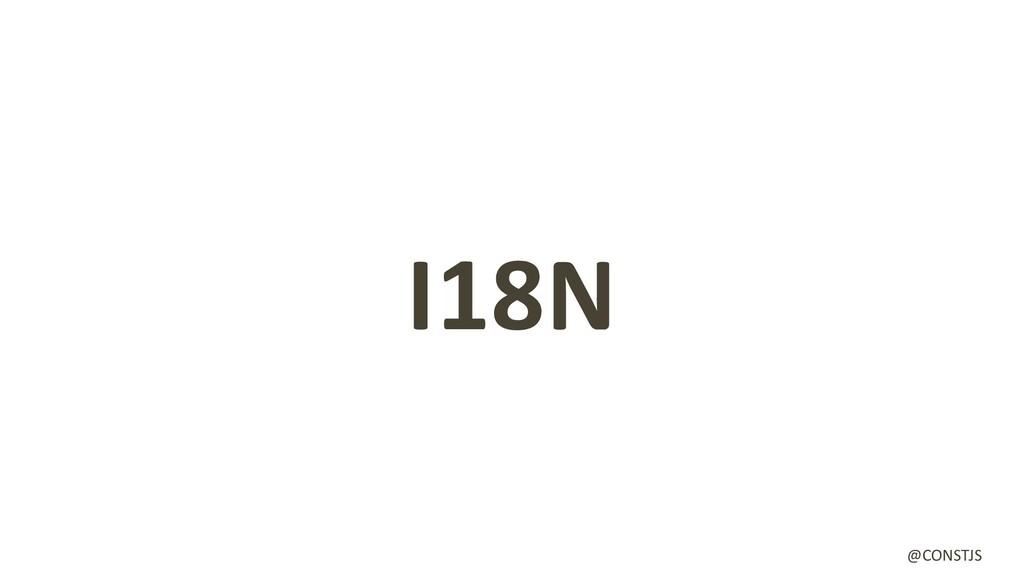 I18N @CONSTJS