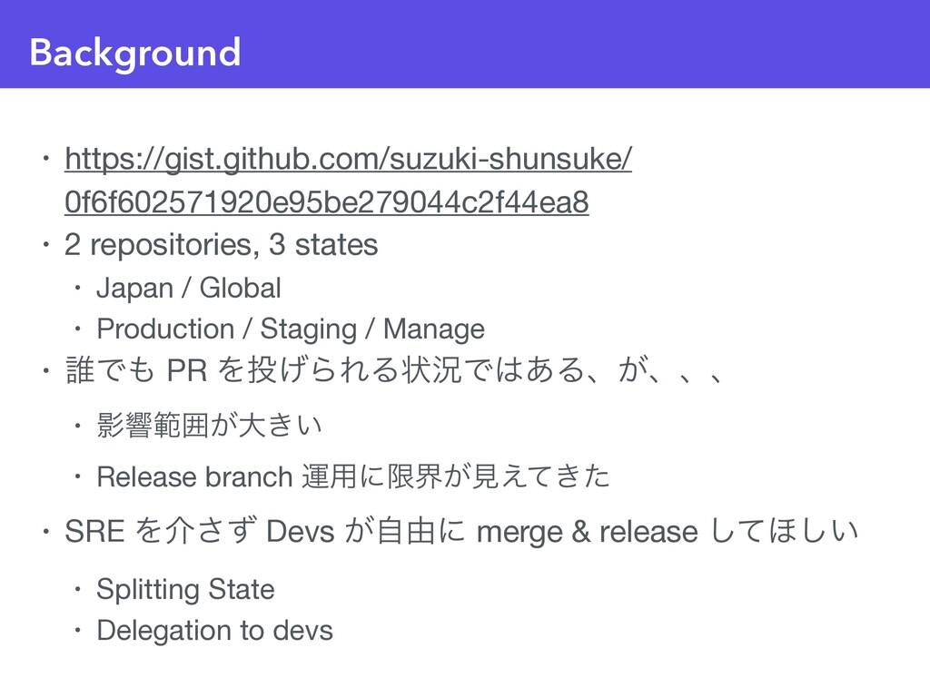 Background • https://gist.github.com/suzuki-shu...