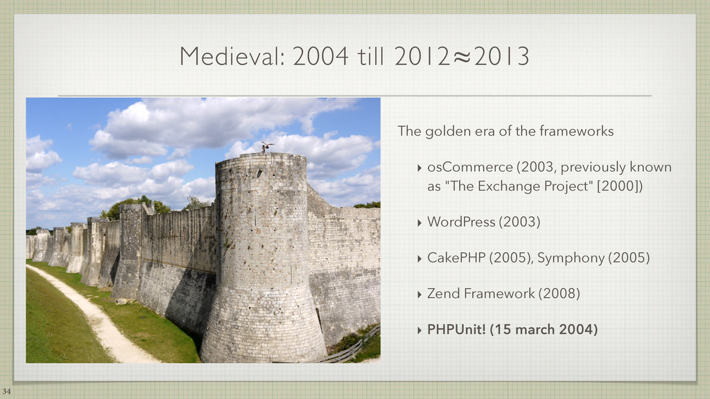 Medieval: 2004 till 2012≈2013 The golden era of...