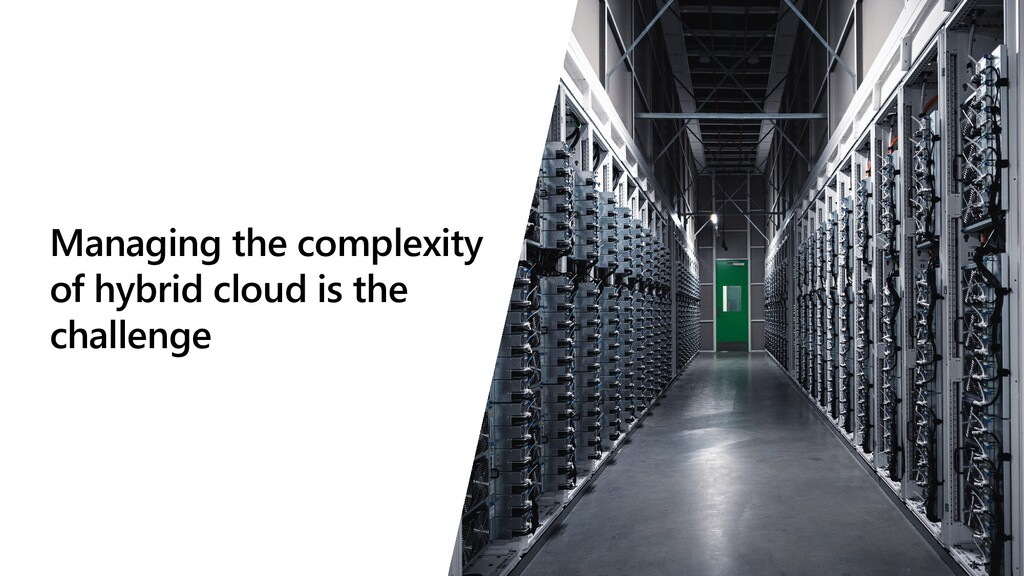 Managing the complexity of hybrid cloud is the ...