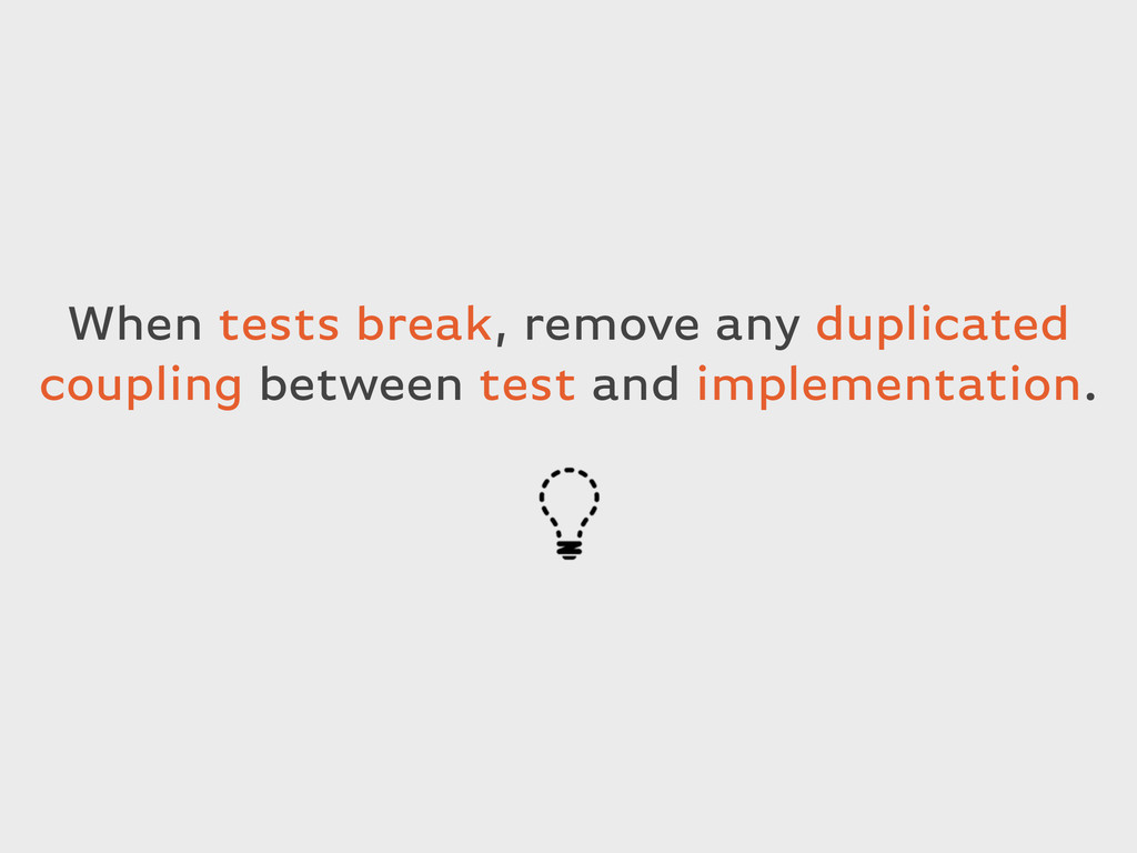 When tests break, remove any duplicated couplin...