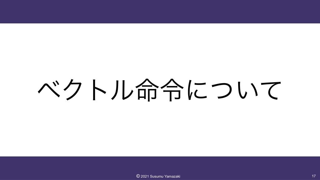 ϕΫτϧ໋ྩʹ͍ͭͯ 17 ©︎ 2021 Susumu Yamazaki
