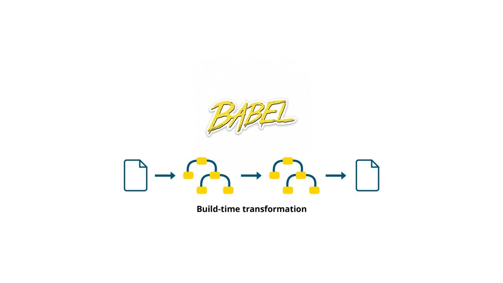 Build-time transformation