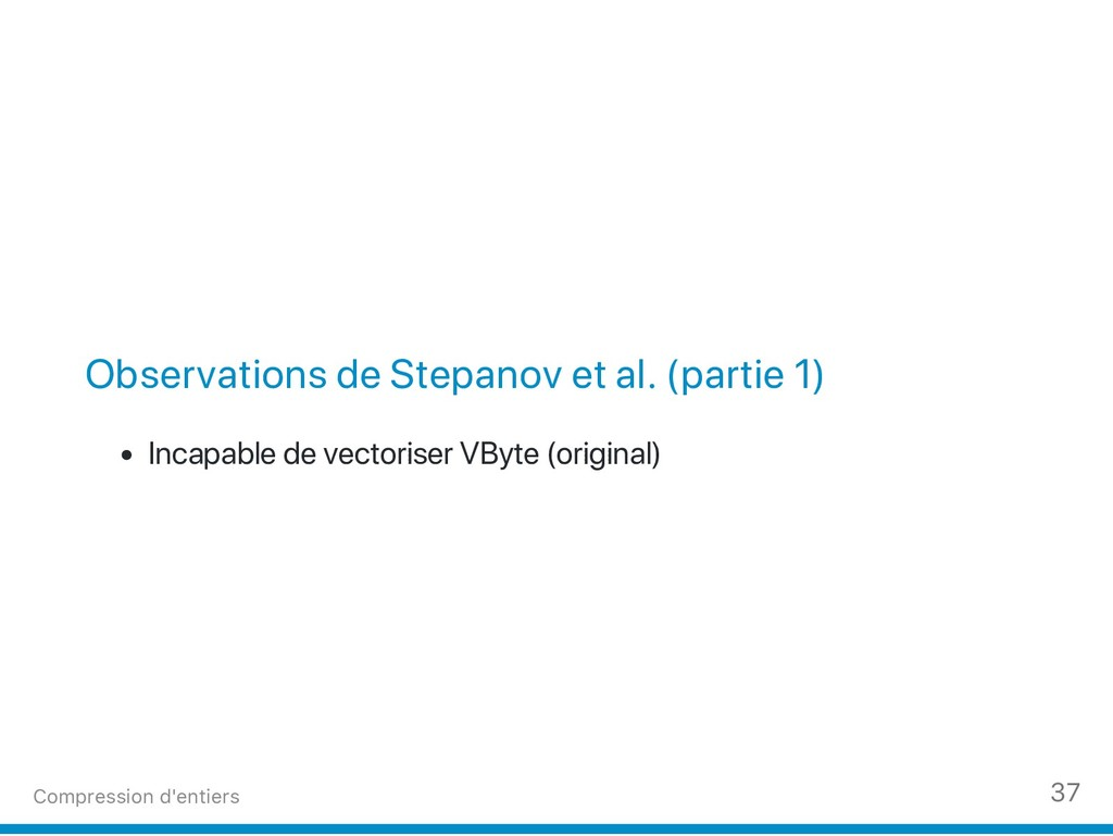 Observations de Stepanov et al. (partie 1) Inca...